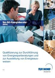 Folder Energieberater 01.2008:Layout 1.qxd - TÜV NORD