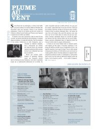 Edition d'octobre 2009 (N°336) - Societe de Lecture Geneve