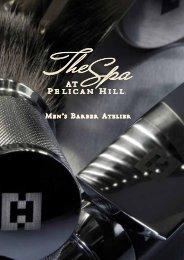 Men's Atelier Services Menu - The Resort at Pelican Hill