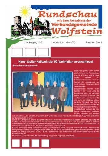 Hans-Walter Kallweit als VG-Wehrleiter verabschiedet