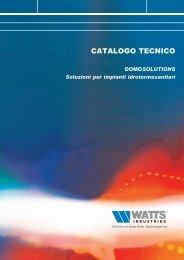 Misuratore di energia termica compatto Serie ... - WATTS industries