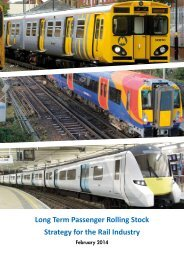Long Term Passenger Rolling Stock Strategy for the Rail Industry February 2014(1)