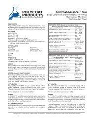 Polycoat-Aquaseal 5000 250voc - Polycoat Products