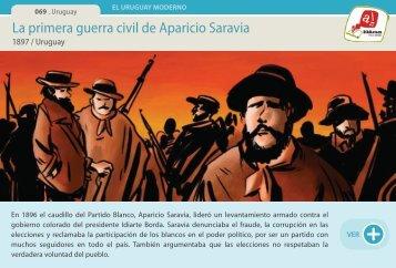 La primera guerra civil de Aparicio Saravia - Manosanta