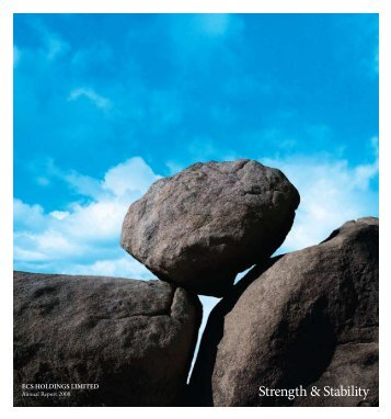 Strength & Stability - ECS Holdings Limited