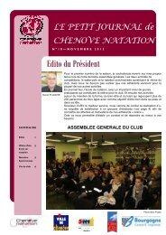 Le Petit Journal de Chenôve Natation - Les sites abcNatation