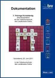 Auswertung - Thüringer Volkshochschulverband e.V.