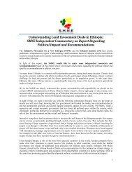 Understanding Land Investment Deals in Ethiopia: SMNE ...