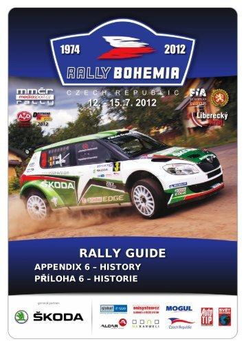 historie - Rally Bohemia