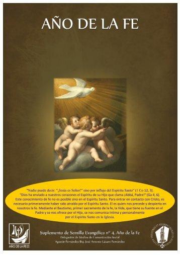 """""""Nadie puede decir: """"¡Jesús es Señor!"""" sino por influjo del Espíritu ..."""