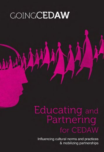 Section 3 - Educating and Partnering for CEDAW