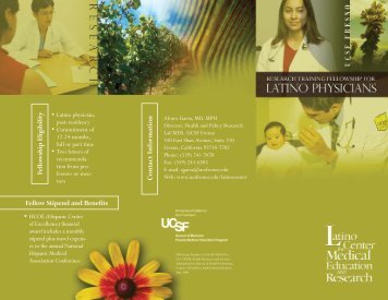 PDF file of the brochure - UCSF Fresno