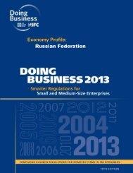my Economy Profile: Russian Federation
