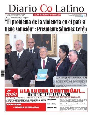 Edición 15 de Enero de 2015