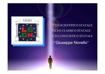"""""""Giuseppe Novello"""""""
