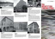 Cicloarchivi 1 - Ordine degli architetti di Bologna