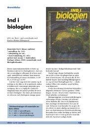 Ind i biologien - Skabelse.dk