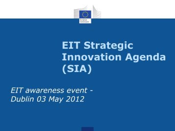 EIC_Ruth Seitz_May 2012 (pdf) - Seventh EU Framework ...