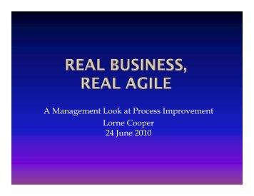 Lorne Cooper, AccuRev CEO
