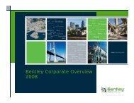 Bentley Corporate Overview 2008