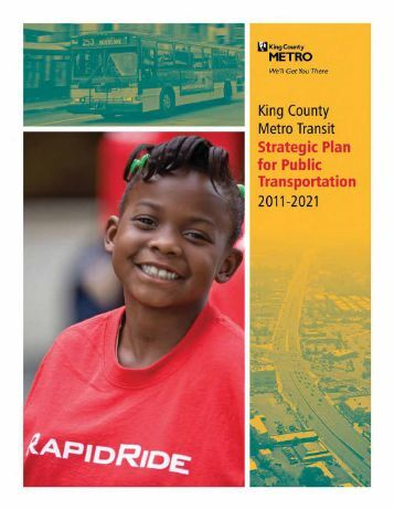 2011 King County Strategic Plan for Public Transportation Executive ...