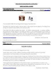 Three Schools' Summer Party 2012 - Auction ... - Bedales Schools