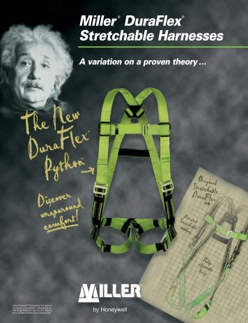 Miller DuraFlex Stretchable Harnesses - Miller Fall Protection