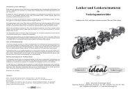 Lenker und Lenkerarmaturen für Vorkriegsmotorräder