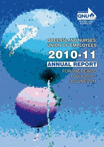 ANNUAL REPORT - Queensland Nurses Union