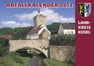 Abfallkalender 2012.indd - Verbandsgemeinde Wolfstein