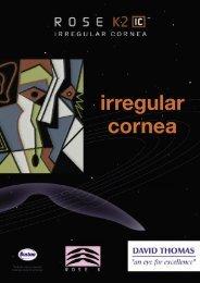 irregular cornea - David Thomas Contact Lenses