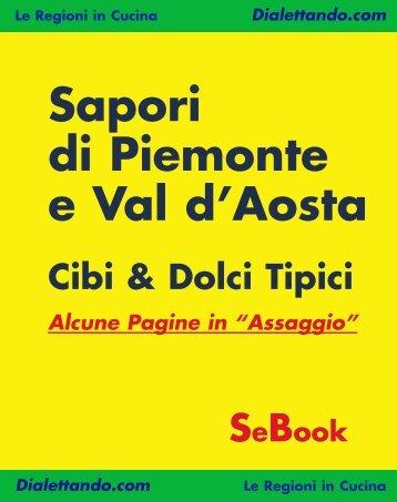 Sapori di Piemonte e Val d'Aosta - Simonelli Editore S.r.l.