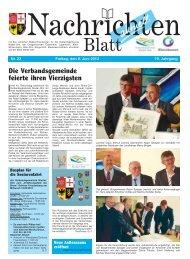 10. Juni 2012 - Verbandsgemeinde Nieder-Olm