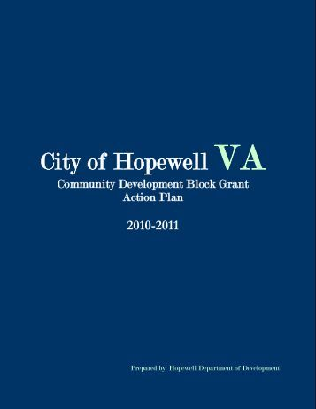 Part One: - the City of Hopewell Virginia