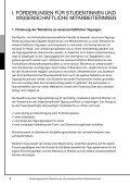 Förderangebote für Studentinnen und wissenschaftliche ... - Page 4