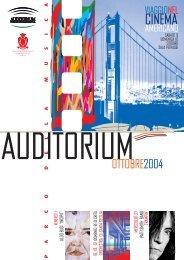 CINEMA - Auditorium Parco della Musica