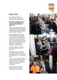 Mipim 2011 - Byens Netværk