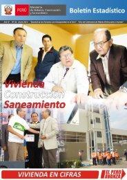 Boletín estadístico - Ministerio de Vivienda, Construcción y ...