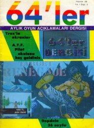 64ler - Sayi 03 (Haziran 1988).pdf - Retro Dergi