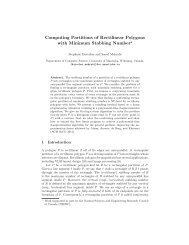 Computing partitions of rectilinear polygons with minimum stabbing ...