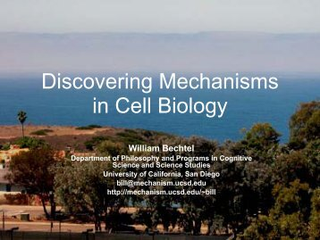 Discovering Mechanisms in Cell Biology - Representing Genes