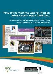 Preventing Violence Against Women Achievements ... - Lgpvaw.net.au