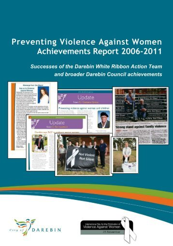 Preventing Violence Against Women Achievements ... - Lgpvaw.net.au