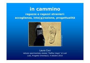 Laura Coci - Centro Servizi Amministrativi di Lodi