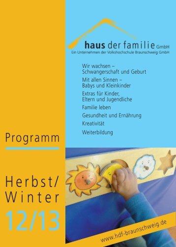 Herbst/ Winter - Volkshochschule Braunschweig