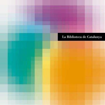 Pàgina web - Biblioteca de Catalunya