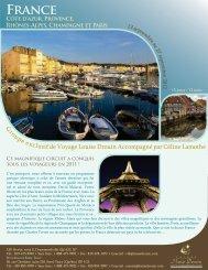 France 2012 avec prix - Web - Agence voyage Louise Drouin