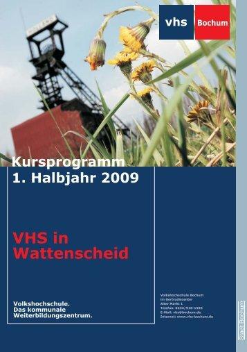VHS in Wattenscheid - Volkshochschule Bochum