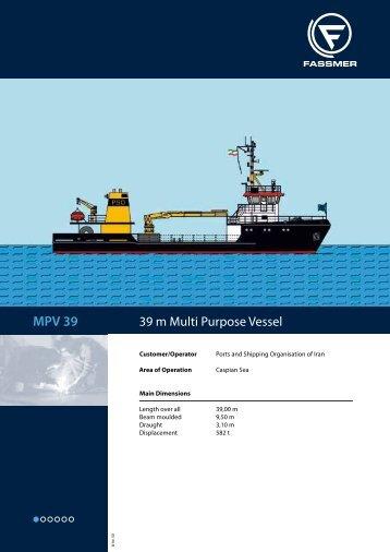 MPV 39 - Fr. Fassmer GmbH & Co. KG