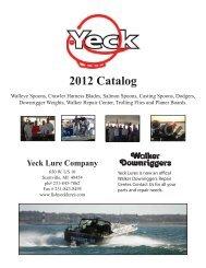2012 Catalog - Fish Yeck Lures